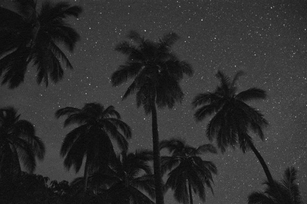 Chacala Beach - Starry sky