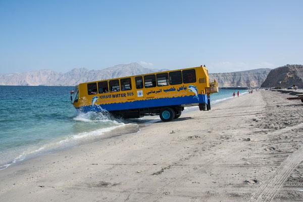 Wassertaxi für die Kreuzfahrt Touristen
