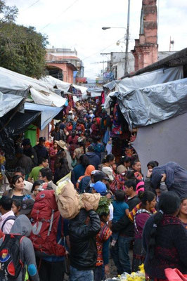 Markttag in Chichicastenango