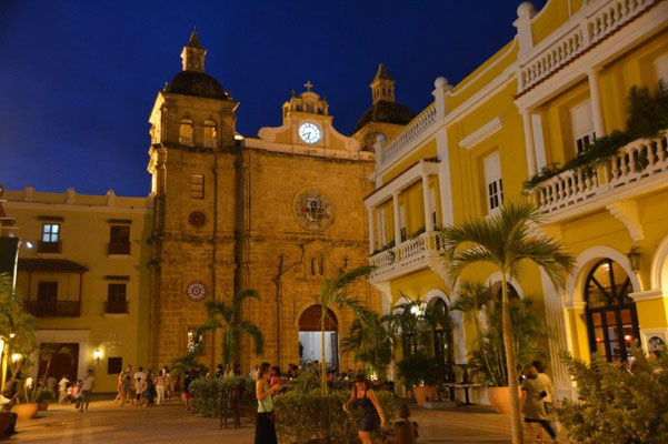 Abendstimmung in Cartagena