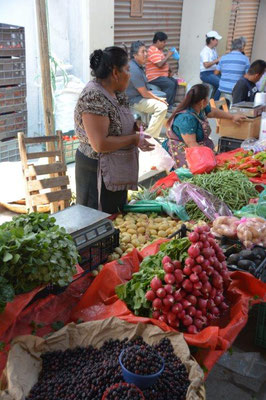 Sunday market in Tlacolula