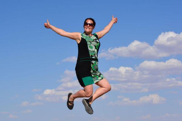 Katja jumps