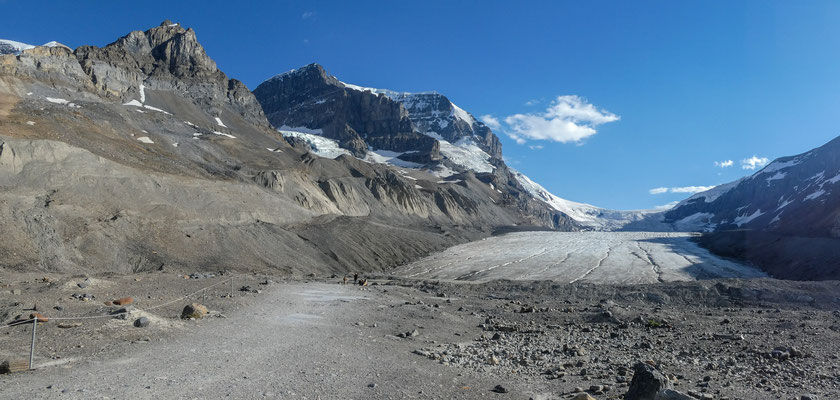 Icefield Parkway - Athabasca Glacier