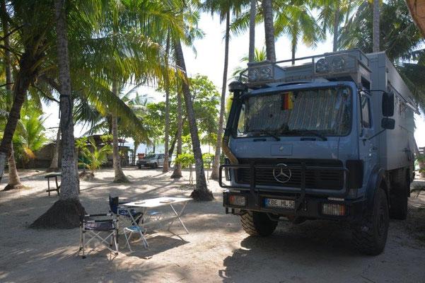 Samara Beach. Ein toller Platz zum relaxen.