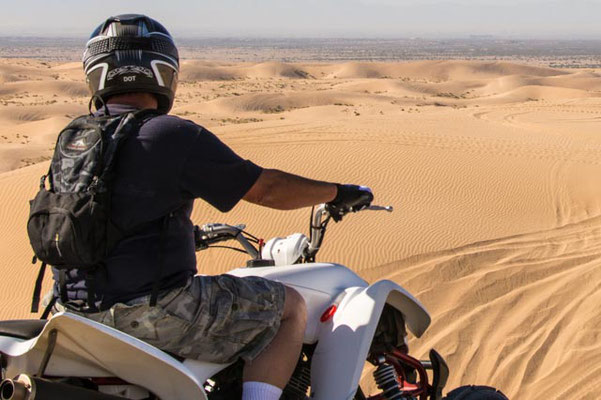 Offroad toys in the Imperial Dunes