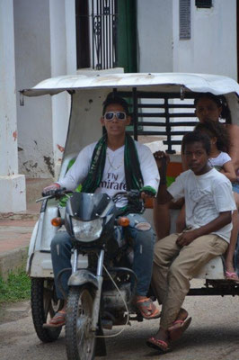 Mototaxi in Mompox