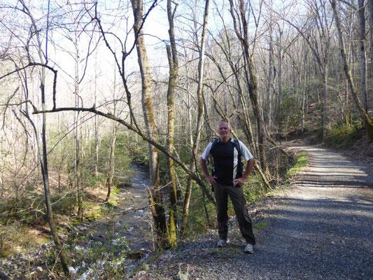 Wandern im Smoky Mountain National Park