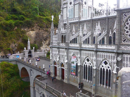The church in Las Lajas