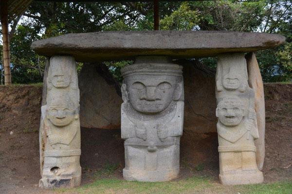 Ausgrabungen in San Augustin