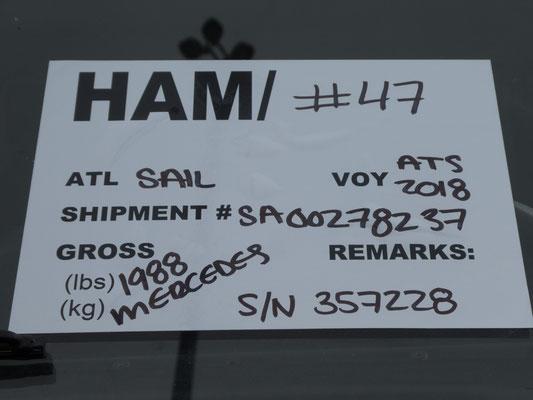 Shipment tag