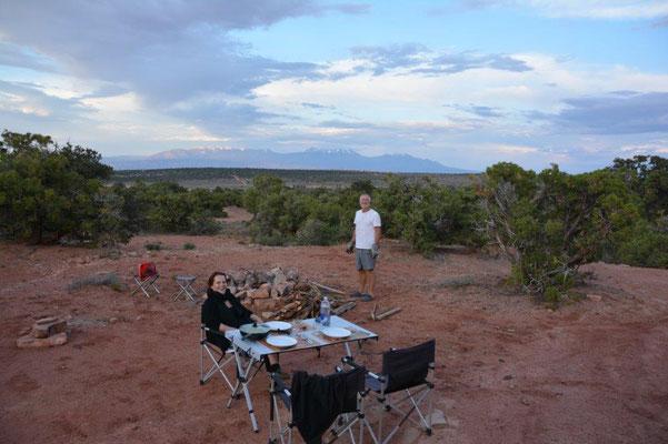 Canyonsland - Übernachtungsplatz