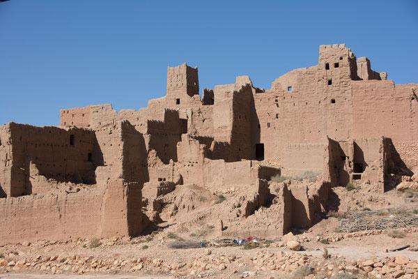 viele alte Kasbahs