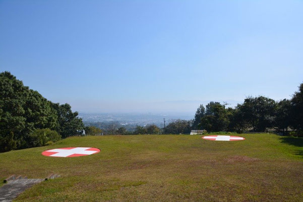 Blick vom Hotel Suiza auf Guatemala City