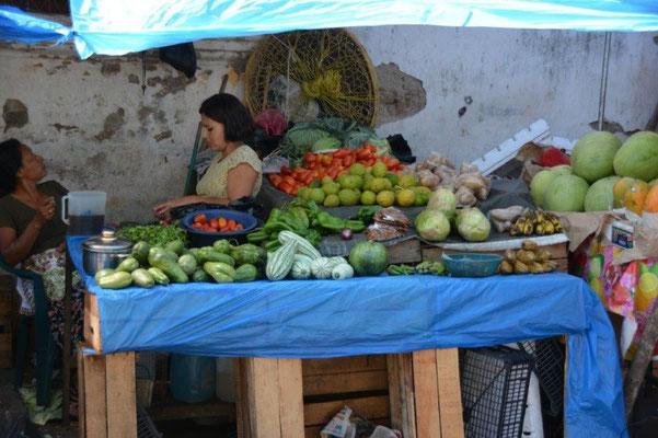 Markt in Juayua