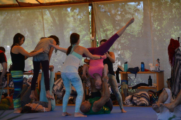 Acrobatik Workshop - I`m down under.......
