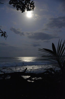 Vollmond in Cahuita