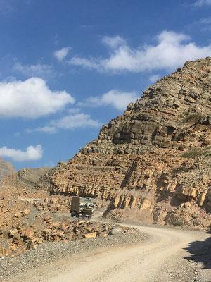 Kleiner Ausflug in die Berge von Musandam