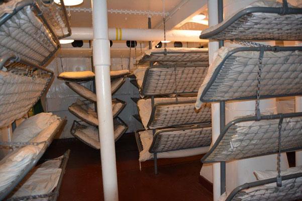 Battleship - Schlafsaal