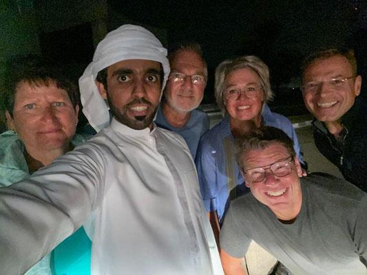 Selfie mit Hamid