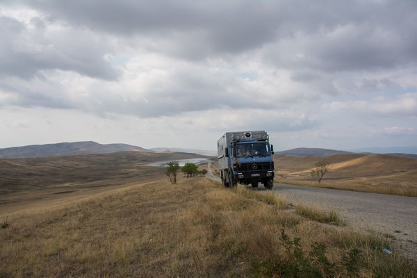 Auf dem Weg zum Kloster David Garedscha