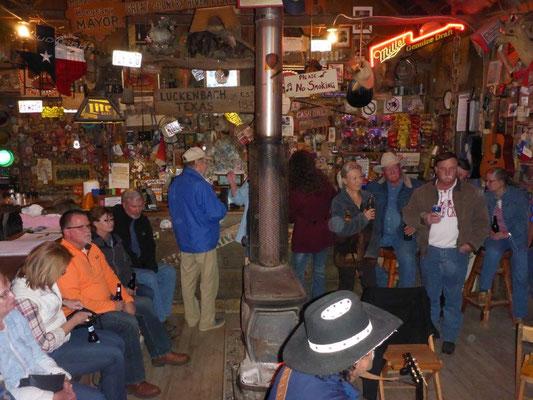 Jam Session im Saloon