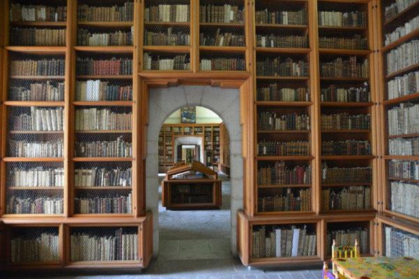 Bibliothek im Kulturmuseum in Oaxaca