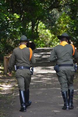 Police in San Augustin