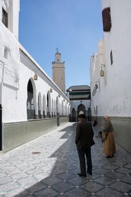 Heilige Pilgerstätte in Moulay Idris