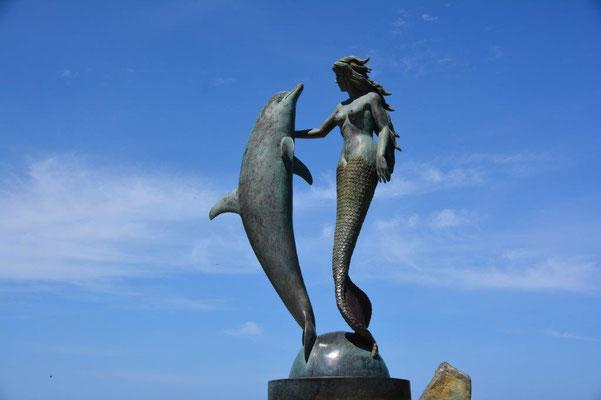 Meerjungfrau in Acapulco