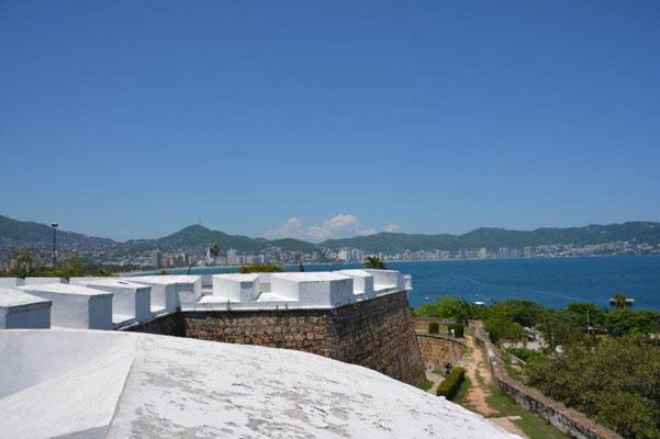 Blick auf die Bucht