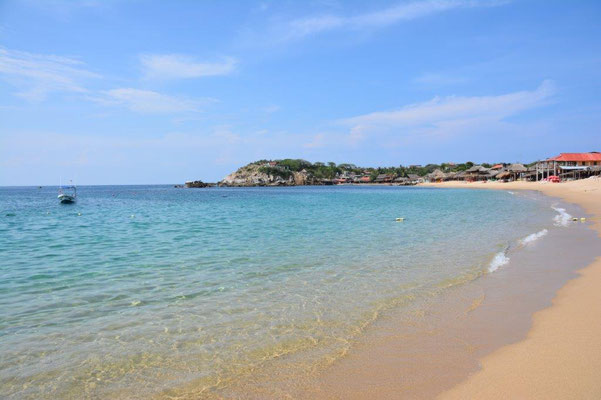 Toller Strand in San Augustin