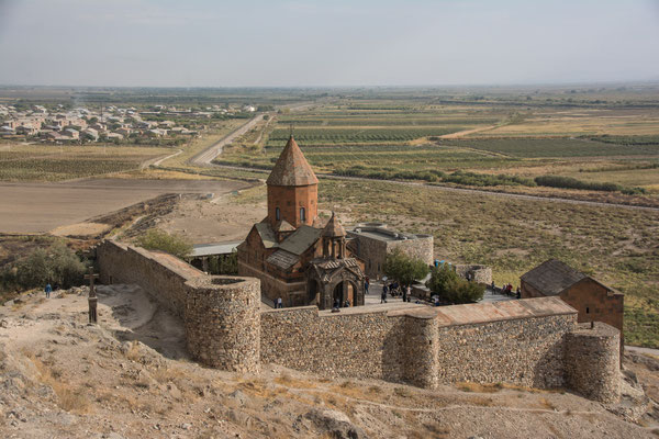 Kloster Chor Virap am Fuß des Ararat