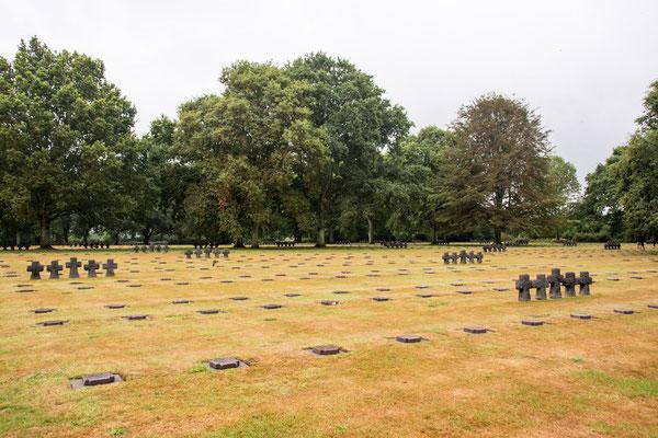 Deutscher Soldatenfriedhof in La Cambe