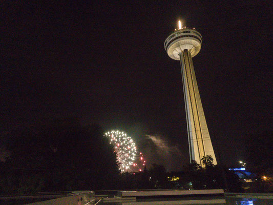 Niagara Falls, fireworks