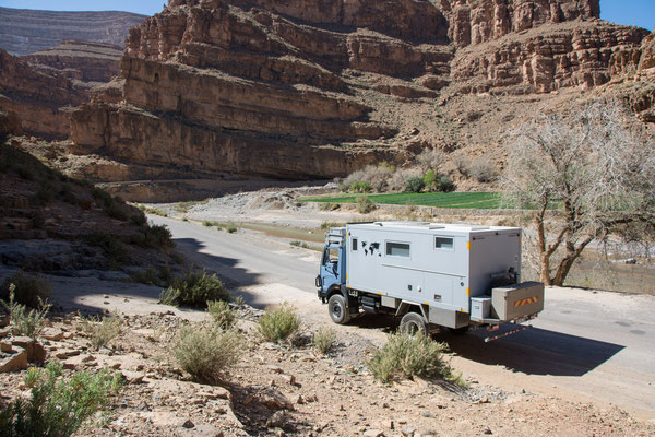 on the way to the Dades gorge