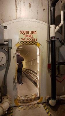 Biosphere 2 - Durchgang zur künstlichen Lunge