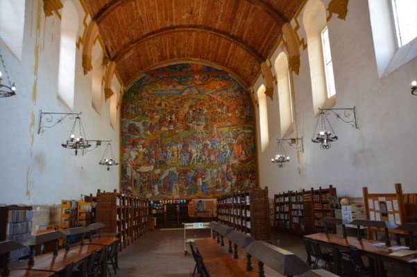 Patzcuaro - Bibliothek
