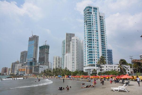 Cartagena, Stadtteil Bocagrande