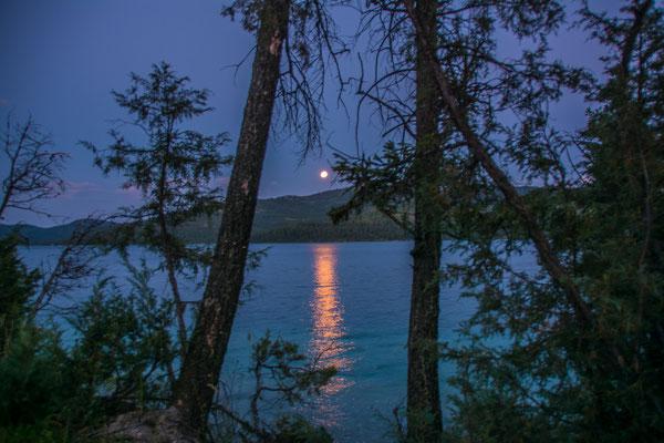 Abendstimmung am Ashley Lake