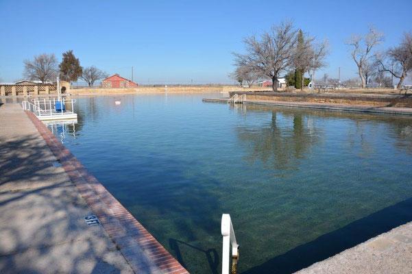 Pool in Balmorhea