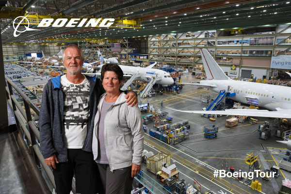 Boeing Factory in Everett