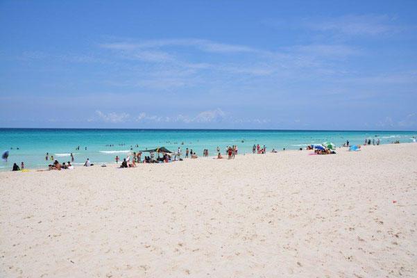 Der Strand fürs Mittagessen
