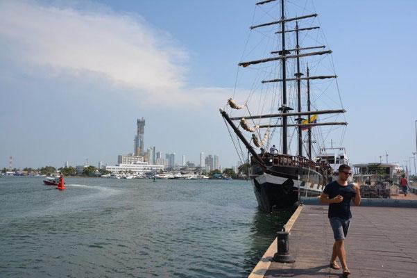 Cartagena Hafen