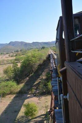 Train to the sugar mills valle