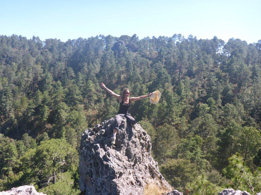 Wanderung zum Canyon