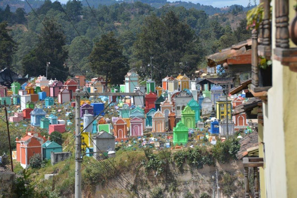 Friedhof in Chichicastenango