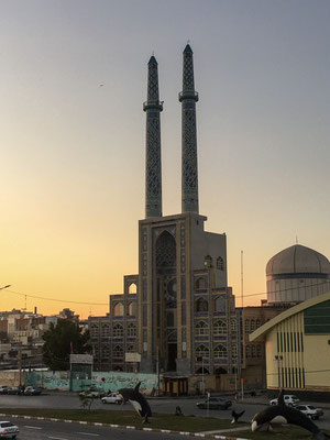 Bandar Abbas am Abend