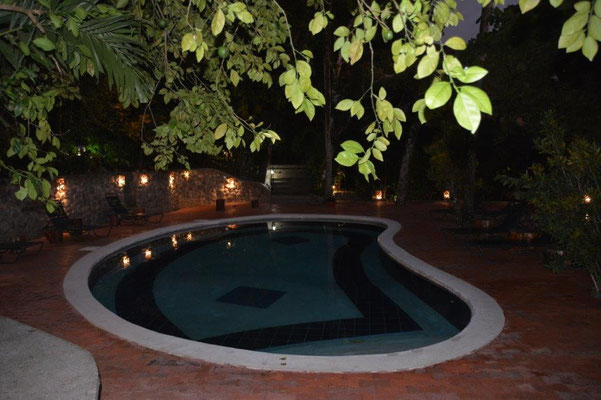 Our private night Pool