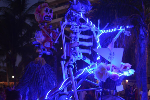 Puertos Vallarta, decoration for the Day of the Dead