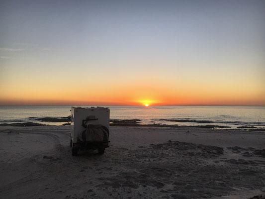 Sunrise at Dolphine beach